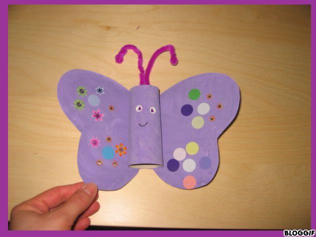 Assmatbabeth page 22 - Papillon avec rouleau de papier toilette ...